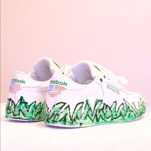 Other - Reebok Hand Painted Shoes x b2Ss